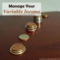 Have trouble predicting what your income or expenses will be? These 5 tips will help you manage a variable income budget so that you stay on track. Frugal Living Tips, Frugal Tips, Money Tips, Money Saving Tips, Financial Tips, Financial Planning, Budgeting Finances, Variables, Saving Ideas