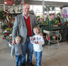 #Christmas We love seeing our friends at The Barn Nursery Christmas Open House!    Come back often...we have plants and gifts coming in daily. It's time to select your traditional poinsettias! www.barnnursery.com 120113