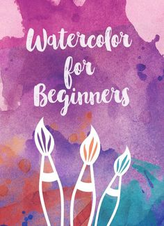 Beginner's Guide to Watercolor Supplies If you've ever wanted to learn to paint, watercolor is a great place to start. Here's a list of 5 tools to get you started.Beginner Beginner may refer to: Painting & Drawing, Watercolor Painting Techniques, Watercolor Projects, Watercolor Tips, Watercolour Tutorials, Painting Lessons, Watercolour Painting, Watercolors, Watercolor Beginner