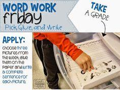 Word Work Storage And Yearly Plan  Tunstalls Teaching Tidbits