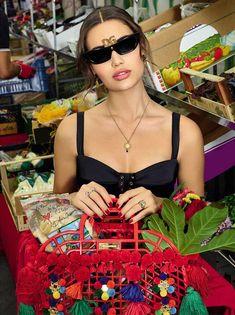 Dolce Gabbana SS 2019 Women Accessories Ad Campaign Shot by Morelli Brothers L Bianca Balti, Giorgio Armani, Women Accessories, Fashion Accessories, Campaign Fashion, Dolce Gabbana, Embroidered Bag, Italian Fashion, Signature Logo