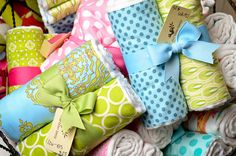 Burps and Spits Craft Show Booths, Craft Booth Displays, Craft Show Ideas, Display Ideas, Boutique Decor, Children's Boutique, Children Boutique Display, Homemade Baby Gifts, Burp Cloth Set