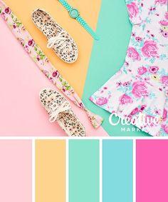 bright summer colors
