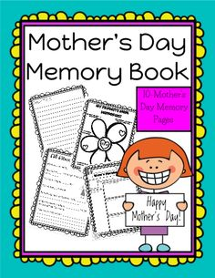Great editable classroom materials @teachersherpa Mother's Day is the perfect time to create a keepsake that mothers will cherish for the rest of their lives! This print-and-go printable will be treasured by moms everywhere! Pages include: a letter to Mom (boy/girl versions), Favorite Memory flower, All About My Mom (from the child's perspective), Mom's Facebook page, Snapchat Funnies, I Love You Because, Recipe page for How to be a Great Mom, MOTHER poem page, & a Promise to Mom page.