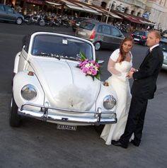 maggiolino bianco matrimonio - Cerca con Google