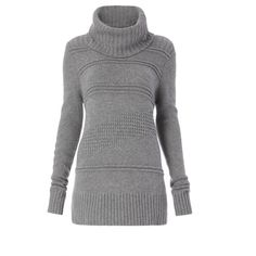 Diane von Furstenberg Talassa Turtleneck Sweater ($328) ❤ liked on Polyvore featuring tops, sweaters, flannel, knitwear, turtleneck, turtle neck top, diane von furstenberg sweater, polo neck sweater, turtleneck top and flannel top