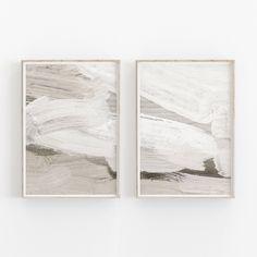 Set of 2 Abstract Beige Watercolor Print, Minimalist Wall Art, Neutral Art Print, Archival Art Print Abstract Watercolor, Abstract Print, Abstract Wall Art, Painting Abstract, Acrylic Paintings, Minimal Art, Art Minimaliste, Art Texture, Neutral Art