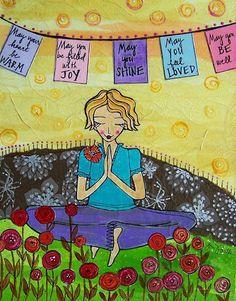 Lokah Samastah Sukhino Bhavantu ~ Sending positive, healing, loving energy out into the universe. Definitely my philosophy <3