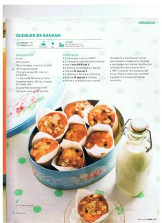 Revista bimby pt-s02-0029 - abril 2013 Sweets Recipes, Baby Food Recipes, Cooking Recipes, Healthy Recipes, I Companion, Kitchen Time, Tasty, Yummy Food, What To Cook