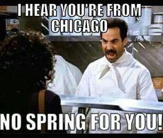 Chicago memes. No spring for you!