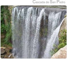 Cascada de San Pedro en Zacatlan de las Manzanas.