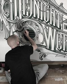 in #typography and #graffiti every #detail matters and @kkade_schwarzmaler demonstrates unique skills and a thoughtful approach to all details #handmadefont