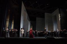 Anna Bolena from the Metropolitan Opera. Production by David McVicar. Sets by Jenny Tiramani.