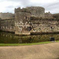 Beaumaris Castle in Beaumaris, Anglesey