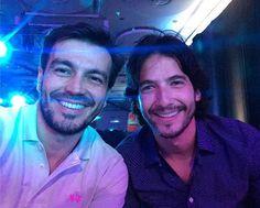 Un sueño! Mis dos amores platónicos de la tv criolla! 😍 Luciano D'Alessandro - Carlos Torres