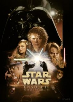 revenge of the sith anaking skywalker vader obi wan kenobi padme amidala star wars lucas