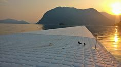 Christo and Jeanne Claude, The Floating Piers, Lake Iseo