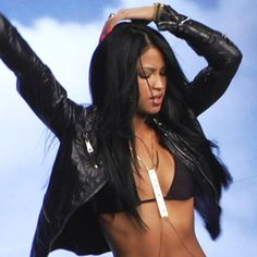 Cassie in the 2008 video for Official Girl