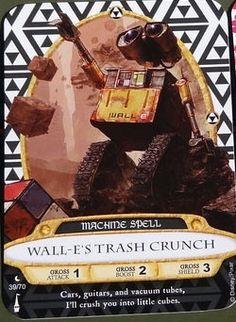 Wall-E sorcerers of the magic kingdom card