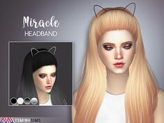 Miracle Hair 40 Set by TsminhSims at TSR • Sims 4 Updates