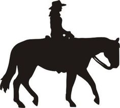 jess this would be cute for a christmas present to jd and family rh pinterest com western horse and rider clip art western horse and rider clipart