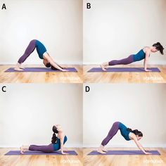 If you've ever done a few sun salutations to warm up before a run, you'll love this shorter variation you can add to your routine.  - Shape.com