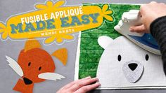 Fusible Appliqué Made Easy - Crochet class http://quilting.myfavoritecraft.org/how-to-quilt/