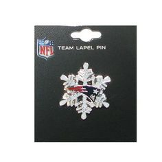 Official New England Patriots ProShop - Patriots Snowflake Pin