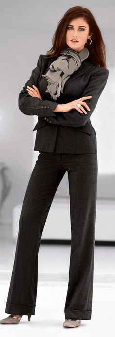 Nice tailored suit looks amazing and makes a great first impression.