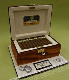 Cigar box cake | Flickr - Photo Sharing!