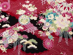 Unique patterns from Japanese KIMONO
