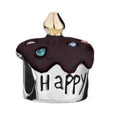 """Pugster Birthday Cake """"happy B Day"""" Colorful Crystal Dark Red Drip Gum European Beads Gift Brands Fits… Pandora Bracelet Charms, Charm Bracelets, Pandora Jewelry, Halloween Beads, Happy B Day, Stylish Jewelry, Dark Red, Crystals, Crystal Beads"