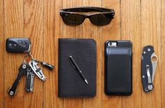 I carry each of these items in my pocket everyday (aside from he sunglasses)…