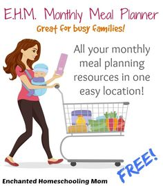 Welcome to the home of all of your monthly meal planning resources, recipes, budgeting, and lessons for all your family's meal planning needs!