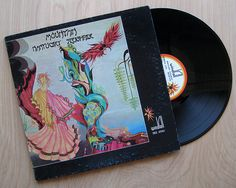 """Mountain """"Nantucket Sleighride"""" Vinyl Record LP. Hard Rock Psychedelic Blues Gatefold Cover with all inserts. Leslie West"""