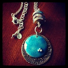 February component of the month #artjewelryelements #lampwork #ajecom by GlassAddictions, via Flickr