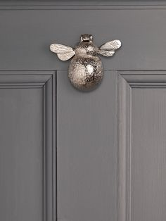 Solid Brass Bumble Bee Door Knocker - Garden Accessories & Ornaments - Outdoor Garden Accessories - Outdoor Living