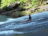 Tallulah Gorge GA - Natural Water Slide