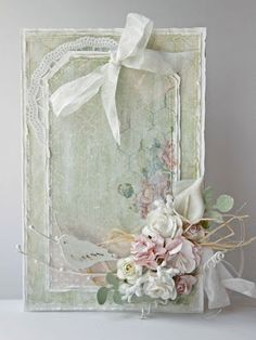 Shabby Chic Handmade Cards                                                                                                                                                                                 More