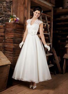 vestidos de novias a media pierna - Buscar con Google