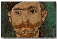 Vincent van Gogh (1853-1890) – The Lover (a.k.a. Portrait of Lieutenant Milliet), detail. Kröller-Müller Museum, Otterlo | by Hans Ollermann