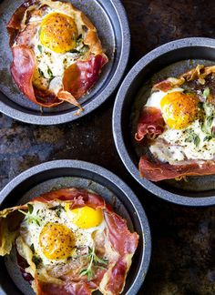 Eggs bacon cups