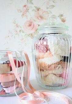 Lace in a jar