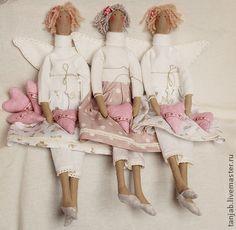 Куклы Тильды ручной работы. Ярмарка Мастеров - ручная работа Тильда Ангел. Handmade.