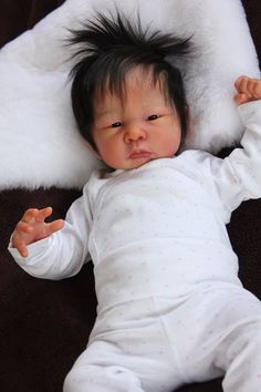 Luli par Adrie Stoete Asian Baby – Collection Mix & Match – Boutique en ligne – City of Reborn Angels Life Like Baby Dolls, Life Like Babies, Real Baby Dolls, Realistic Baby Dolls, Bb Reborn, Reborn Doll Kits, Silicone Reborn Babies, Silicone Baby Dolls, Mix Match