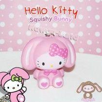Hello Kitty Squishy *Bunny* Ball Chain Charm