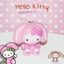 Hello Kitty Squishy *Bunny* Ball Chain Charm