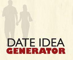 date idea generator.