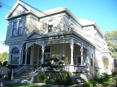 Brownlee residence. Queen Anne style, built in 1891. 754 South Third Street. San Jose, California, USA