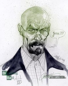 Walter White by J. Scott Campbell